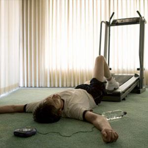 treadmill fall