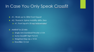 fat loss workout slide 2